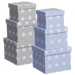Caja decorada estrellas 3