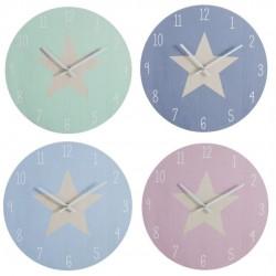 "reloj de pared ""estrella"""