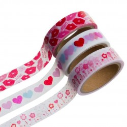 WASHI TAPE 5MTS LOVE