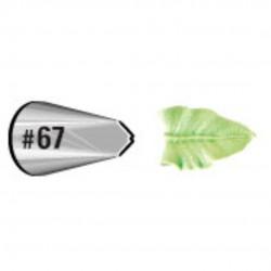 boquilla hoja #67