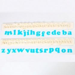 cortador alfabeto minusculas