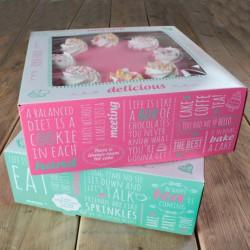 caja tartas