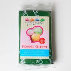 Fondant verde 250gr Funcakes