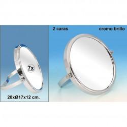 ESPEJO X7 METAL BAÑO 20 X17 X12CM