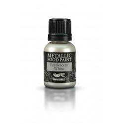 COLORANTE BLANCO METALICO 25ML
