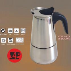 CAFETERA 4T ACERO INOX