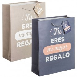 Bolsa de papel decorada XL