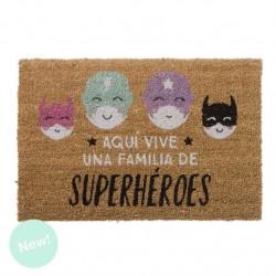 Felpudo superheroes