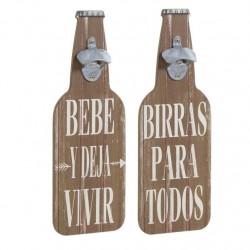 abridor botellas mensaje