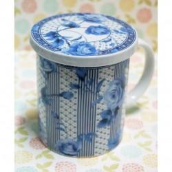 taza de te flores