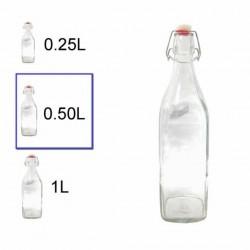 botella cristal 0,5L