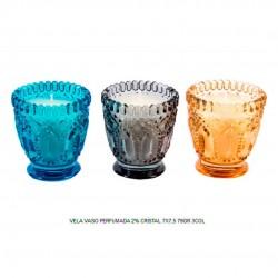 vela vaso perfumada