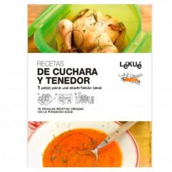 LIBRO RECETAS CUCHARA Y TENEDOR