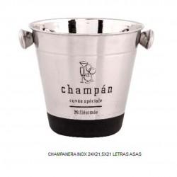 CHAMPANERA INOX