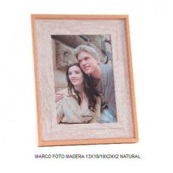 PORTAFOTO 13X18CM MADERA