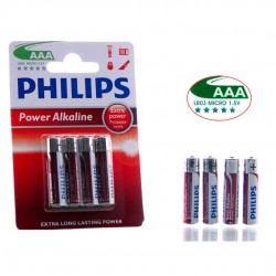 4 PILAS AAA PHILIPS