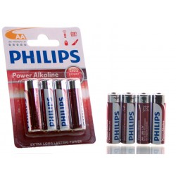 4 PILAS AA PHILIPS