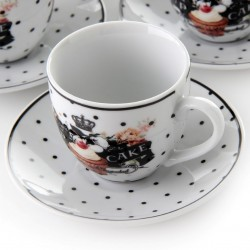SET 6T CAFE CUPCAKES
