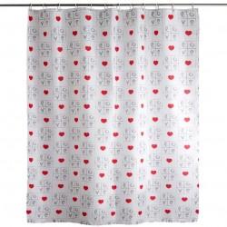 cortina de baño love