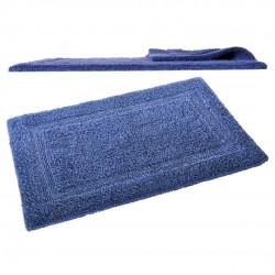 alfombra de baño azul
