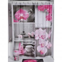 cortina de baño zen