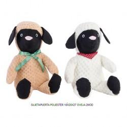sujetapuertas oveja
