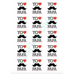 PAPEL DE AZUCAR YO QUIERO PAPA