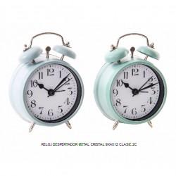 reloj despertador metal