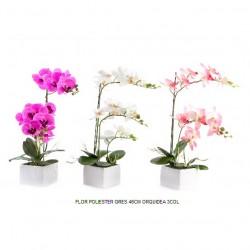 flor artificial orquidea