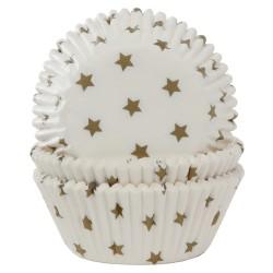 cápsulas cupcakes estrellas