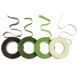 cinta de florista verde oscuro