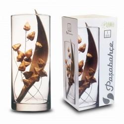 jarrón cristal 30cm