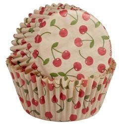 capsulas cupcakes cerezas