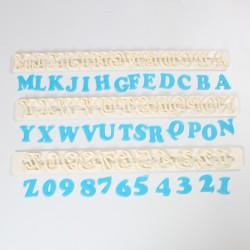 cortador alfabeto numeros