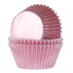 cápsulas cupcakes rosas