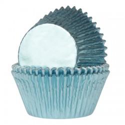 cápsulas cupcakes azules