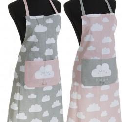 Delantal de cocina nube