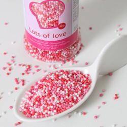 Deco perlitas rosas azúcar