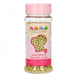 perlas comestibles doradas