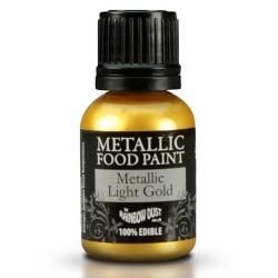 pintura comestible metálica