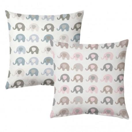 cojín infantil elefantes