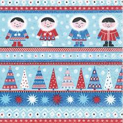 Servilletas papel navidad nordic