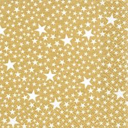 Servilletas papel navidad estrellas