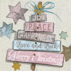 Servilletas papel navidad deseos