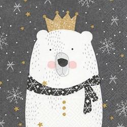 Servilletas papel navidad oso
