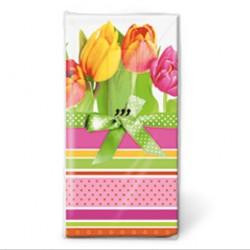 Pañuelos papel tulipanes