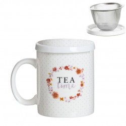 TAZA TEA TIME FILTRO