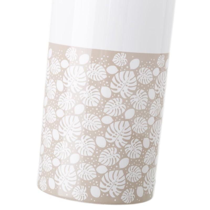 Escobillero beige ceramica - Ceramica beige para bano ...
