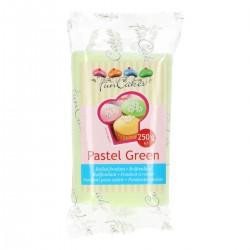 fondant verde pastel