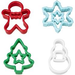 cortadores galletas navidad